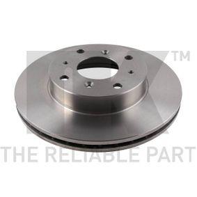 NK Комплект спирачни дискове 204009