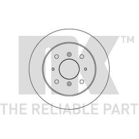 NK Комплект спирачни дискове 204011
