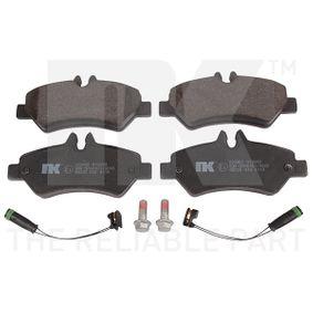 Bremsbelagsatz, Scheibenbremse NK Art.No - 223363 OEM: 2E0698451 für VW, MERCEDES-BENZ, AUDI, SKODA, SEAT kaufen