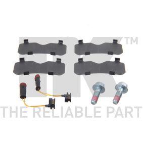 NK Bremsbelagsatz, Scheibenbremse A0044206920 für VW, MERCEDES-BENZ bestellen