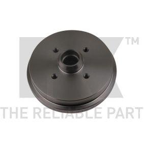 Bremstrommel NK Art.No - 254708 OEM: 171501615 für VW, AUDI, SKODA, SEAT, PORSCHE kaufen