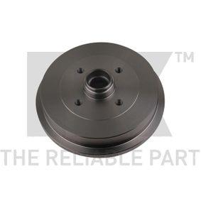 Bremstrommel NK Art.No - 254709 OEM: 1H0501615B für VW, AUDI, SKODA, SEAT kaufen