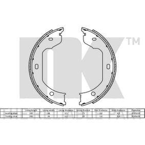 Bremsbacken für Handbremse 2715695 NK