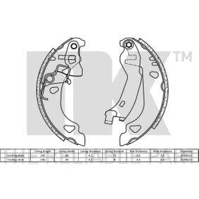 NK Bremsbackensatz 9945975 für FIAT, ALFA ROMEO, LANCIA bestellen