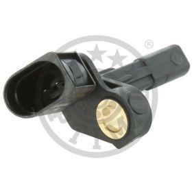 OPTIMAL Sensor, Raddrehzahl 1K0927808 für VW, AUDI, SKODA, SEAT, PORSCHE bestellen