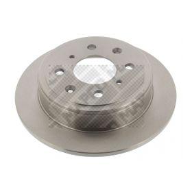 Спирачен диск MAPCO Art.No - 15604 OEM: GBD90817 за HONDA, SKODA, LAND ROVER, ROVER, MG купете