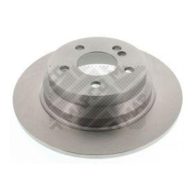 Bremsscheibe MAPCO Art.No - 15813 OEM: 2114230712 für MERCEDES-BENZ, SMART kaufen