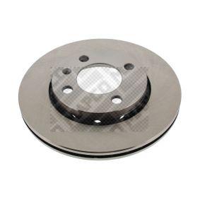 Bremsscheibe MAPCO Art.No - 15835 OEM: 6N0615301F für VW, AUDI, SKODA, SEAT kaufen