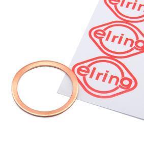 ELRING Уплътнителен пръстен, пробка за източване на маслото 133.205