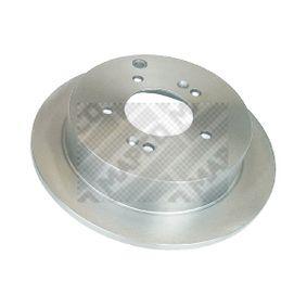 Bremsscheibe MAPCO Art.No - 25574 OEM: 584113A300 für HYUNDAI, KIA kaufen
