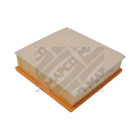 MAPCO Luftfilter 95513087 für OPEL, DAEWOO, BEDFORD, GMC, VAUXHALL bestellen