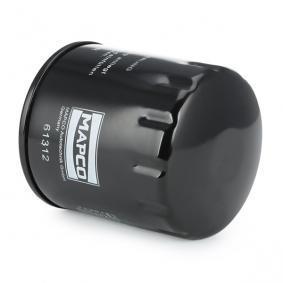 MAPCO 61312 Ölfilter OEM - 46805832 ALFA ROMEO, FIAT, LANCIA, ALFAROME/FIAT/LANCI, TOFAS, TOPRAN günstig