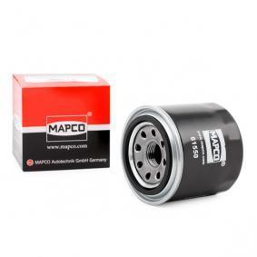 RFY514302 за MAZDA, MERCURY, Маслен филтър MAPCO (61550) Онлайн магазин