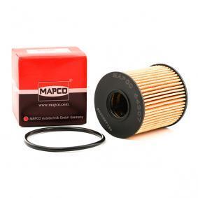 MAPCO Oliefilter Filterindsats 64307 ekspertviden