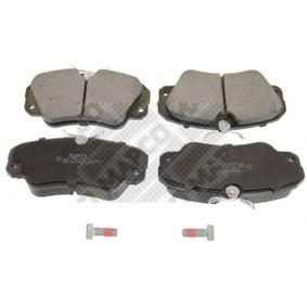 Bremsbelagsatz, Scheibenbremse MAPCO Art.No - 6460 OEM: 1605004 für OPEL, CHEVROLET, SAAB, CADILLAC, VAUXHALL kaufen