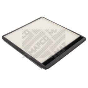 Filtro habitáculo 65406 MAPCO