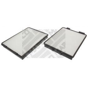 Filter, Innenraumluft MAPCO Art.No - 65614 OEM: 64312207985 für BMW, AUDI, MAZDA, MINI, ALPINA kaufen