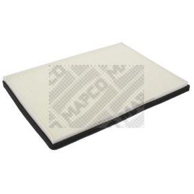 MAPCO Kabineluftfilter Papir, Pollenfilter 4043605084736 Rating