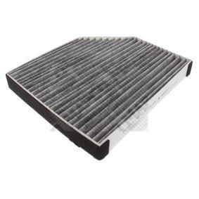 MAPCO Filter, Innenraumluft 8K0819439A für VW, AUDI, SKODA, SEAT, PORSCHE bestellen