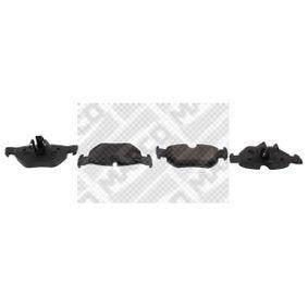 mapco kit de plaquettes de frein frein disque essieu arri re 6813 pas cher. Black Bedroom Furniture Sets. Home Design Ideas