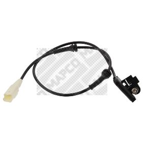 Sensor, Raddrehzahl MAPCO Art.No - 86305 OEM: 4545C4 für PEUGEOT, CITROЁN kaufen