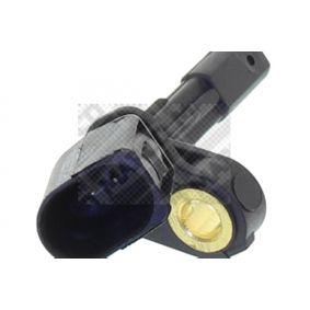 MAPCO Sensor, Raddrehzahl 1K0927808 für VW, AUDI, SKODA, SEAT, PORSCHE bestellen