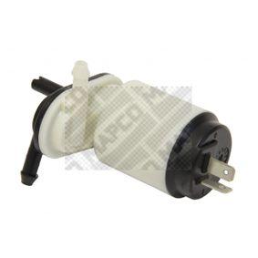 MAPCO Motor agua limpiaparabrisas 90701