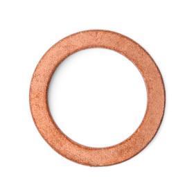 ELRING Уплътнителен пръстен, пробка за източване на маслото N007603014106 за MERCEDES-BENZ, SEAT, SMART купете