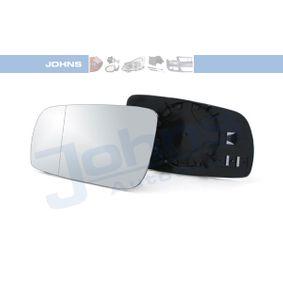 JOHNS 95 39 37-82 Spiegelglas, Außenspiegel OEM - 1J1857521 SEAT, SKODA, VW, VAG, VW/SEAT, JP GROUP günstig