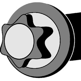 CORTECO RENAULT TWINGO Zylinderschrauben (016244B)