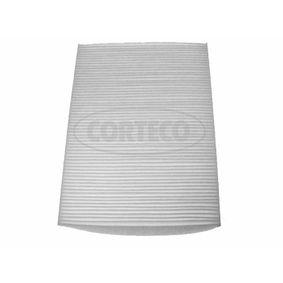 1H0819644B für VW, AUDI, SKODA, SEAT, SMART, Filter, Innenraumluft CORTECO (21651912) Online-Shop