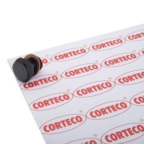 CORTECO Ölablaßschraube /-dichtring 220124S für AUDI COUPE 2.3 quattro 134 PS kaufen