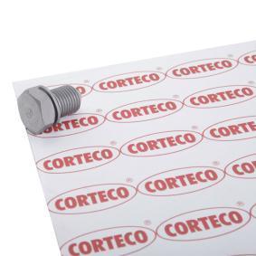 CORTECO Závitová zátka, olejová vana 220125S