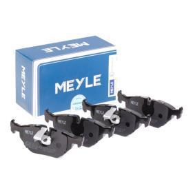 Bremsbelagsatz, Scheibenbremse MEYLE Art.No - 025 216 9117 OEM: 34216761281 für BMW, FORD, MINI, SAAB, ROVER kaufen