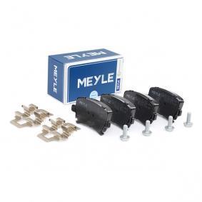 3C0698451A für VW, AUDI, SKODA, SEAT, Bremsbelagsatz, Scheibenbremse MEYLE (025 239 1417) Online-Shop