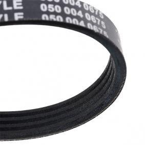 Poly v-belt 050 004 0675 MEYLE