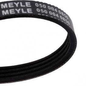323 P V (BA) MEYLE Rippenriemen 050 004 0850