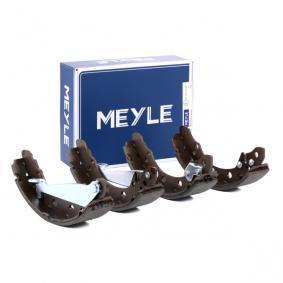 Bremsbackensatz MEYLE Art.No - 114 042 0601 OEM: 1H0698520X für VW, AUDI, SKODA, SEAT, PORSCHE kaufen
