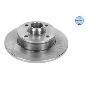 Bremsscheibe MEYLE Art.No - 115 523 1005 OEM: 357615601 für VW, AUDI, SKODA, SEAT, PORSCHE kaufen