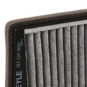 MEYLE Filter, Innenraumluft (312 320 0002) niedriger Preis
