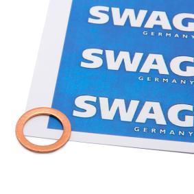 Уплътнителен пръстен, пробка за източване на маслото SWAG Art.No - 99 90 7215 OEM: 11023582 за OPEL, SEAT, CHEVROLET, DAEWOO, ISUZU купете