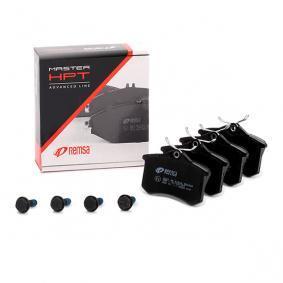 Megane III Hatchback (BZ0/1_) REMSA Brake pad set disc brake 0263.05