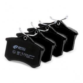 REMSA Brake pads 0263.05