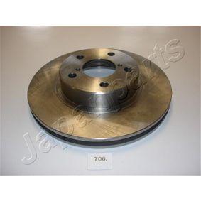Bremsscheibe JAPANPARTS Art.No - DI-706 OEM: 26300AE040 für SUBARU, BEDFORD kaufen