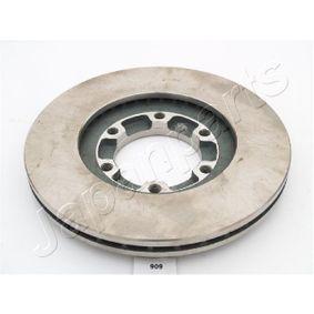 JAPANPARTS Bremsscheibe 8943724350 für OPEL, CHEVROLET, ISUZU, CADILLAC, PONTIAC bestellen