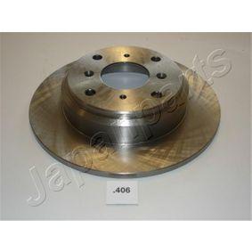 JAPANPARTS Комплект спирачни дискове DP-406
