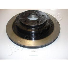 Bremsscheibe JAPANPARTS Art.No - DP-705 OEM: 26700AE081 für SUBARU, BEDFORD kaufen