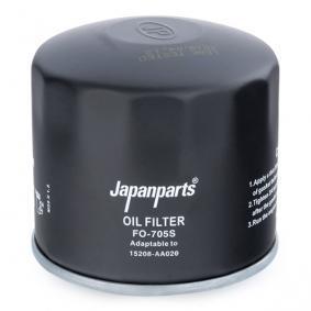 JAPANPARTS FO-705S Hydraulikfilter, Automatikgetriebe OEM - 15208AA023 BEDFORD, MAZDA, NISSAN, SUBARU günstig