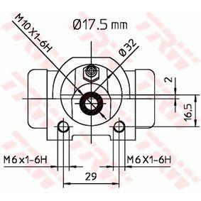 TRW Radbremszylinder 7701040850 für RENAULT, RENAULT TRUCKS bestellen