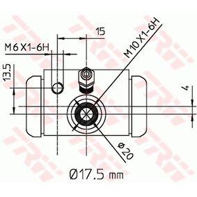 TRW Radbremszylinder 7701047838 für RENAULT, DACIA, RENAULT TRUCKS bestellen